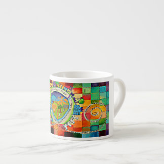 Wake up with color mug! espresso cup