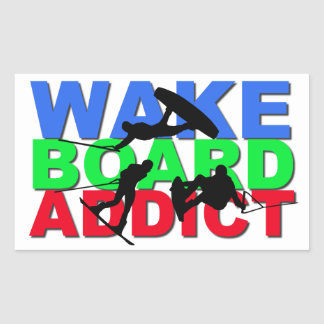 Wakeboard Addict Sticker