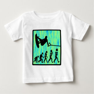 Wakeboard Styled Evolution Baby T-Shirt