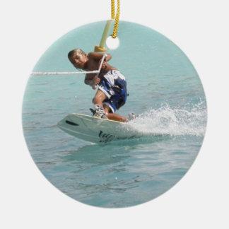 Wakeboarding Turn ORnament