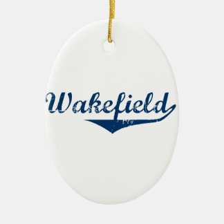 Wakefield Ceramic Ornament