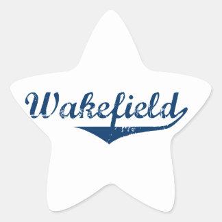 Wakefield Star Sticker