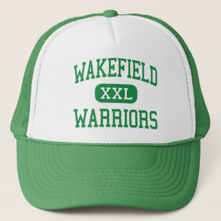 Wakefield - Warriors - High - Arlington Virginia Trucker Hat