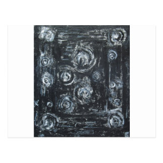 Wakes of Swirls (abstract expressionism) Postcard