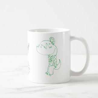 Wakeupasaurus Coffee Mug
