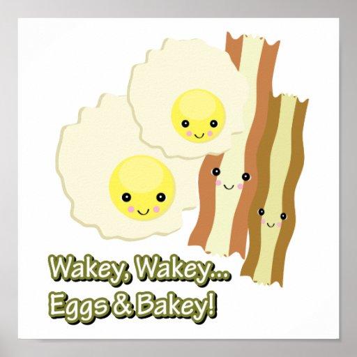 wakey wakey eggs n bakey poster