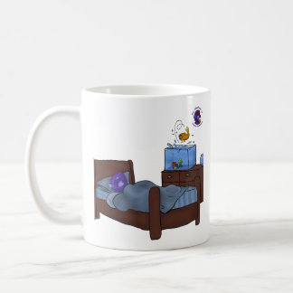 Wakie, wakie, eggs and bakie. coffee mug