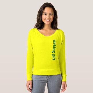 Waking Girl Web Design T-Shirt