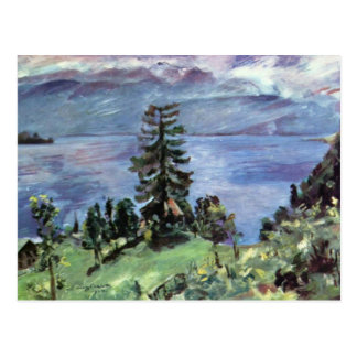 Walchensee Panoramic View From The Pulpit By Corin Postcard