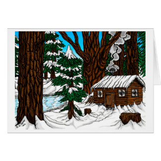Walden - Day Greeting Card