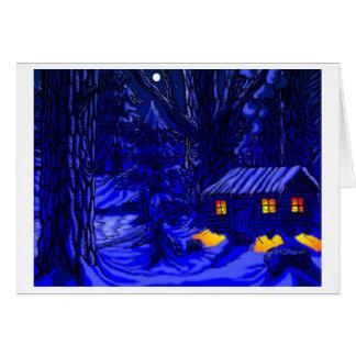 Walden - Night Greeting Card