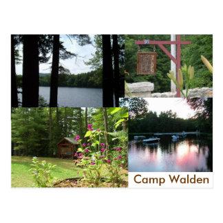 walden stationary postcard