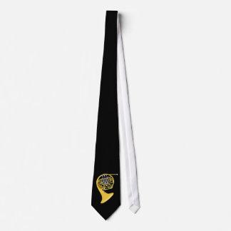 Waldhorn french horn tie