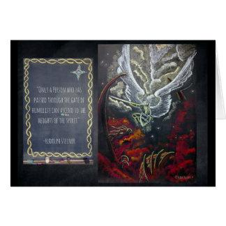 Waldorf Inspired Art Card: Michelangelo Card