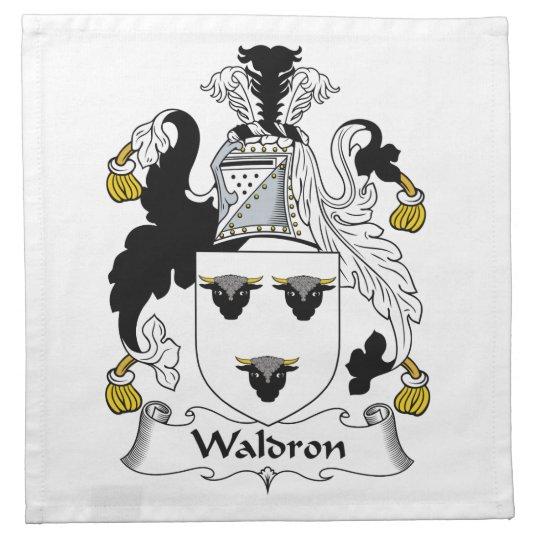 Waldron Family Crest Napkins