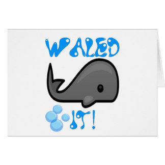 Waled It Card