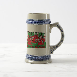 Wales 2012 Grand Slam Rugby Stein