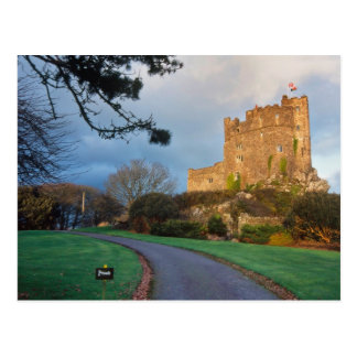 Wales - A private welsh castle near St. Postcard