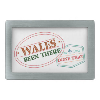 Wales Been There Done That Belt Buckles