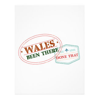 Wales Been There Done That Letterhead