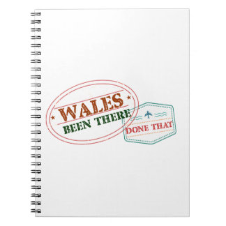 Wales Been There Done That Notebooks
