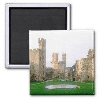 Wales, Caernarfon castle, one of Edward's 2 Magnet