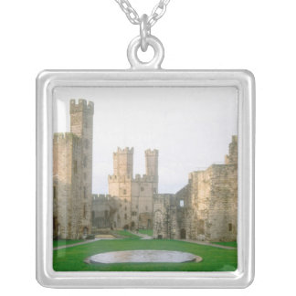 Wales, Caernarfon castle, one of Edward's 2 Silver Plated Necklace