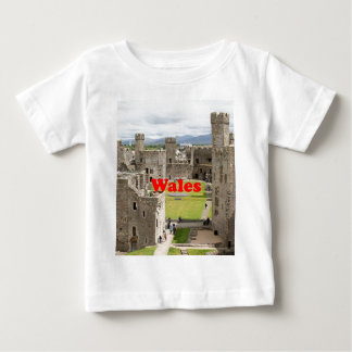Wales: Caernarfon Castle, United Kingdom Baby T-Shirt