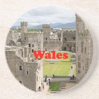 Wales: Caernarfon Castle, United Kingdom Coasters