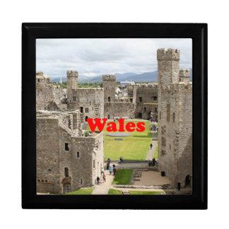 Wales: Caernarfon Castle, United Kingdom Keepsake Boxes