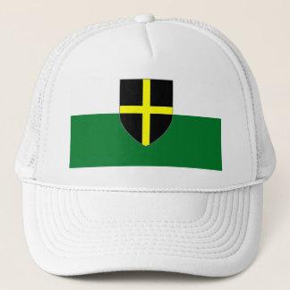 Wales Cap - St. David Shield on White & Green