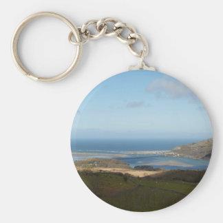 Wales Coast Key Chain