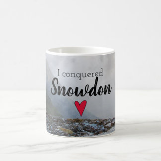 Wales Conquered Snowdon Landscape Welsh Stream Coffee Mug