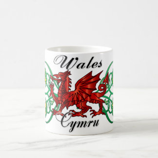 Wales, Cymru, Welsh Mug With Dragon & Daffodil