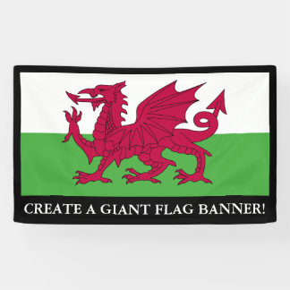 Wales Flag Banner