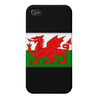 Wales Flag  Cases For iPhone 4