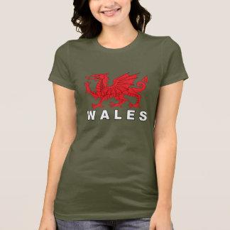 WALES - Flag Dragon T-Shirt