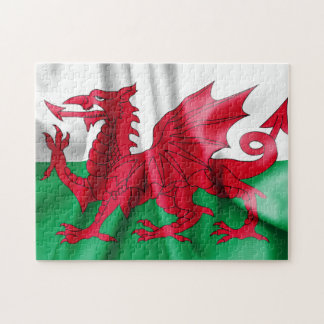 Wales Flag Jigsaw Puzzle