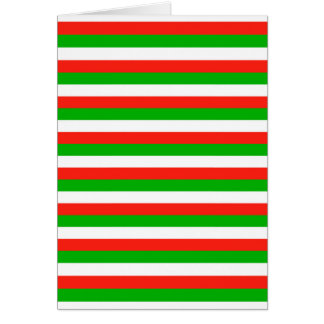 wales flag stripes card