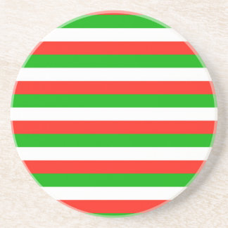 wales flag stripes coaster
