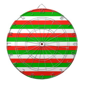 wales flag stripes dartboard
