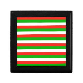 wales flag stripes gift box