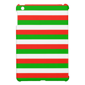 wales flag stripes iPad mini cover