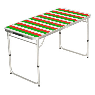 wales flag stripes lines pattern beer pong table