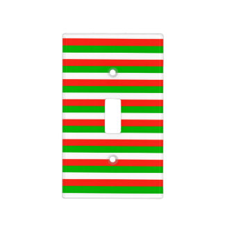 wales flag stripes lines pattern light switch cover
