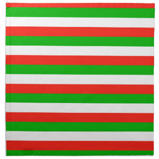 wales flag stripes napkin