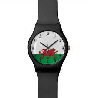 Wales flag watch
