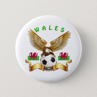 Wales Football Designs 2 Inch Round Button