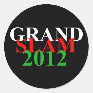 wales grand slam 2012 sticker words