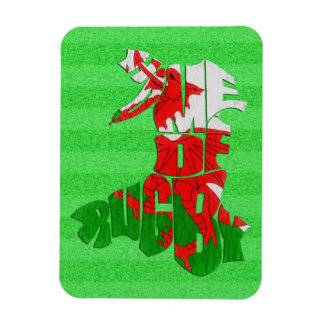 Wales Home of Rugby Magnet